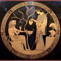 Elaide, Eno e Spermo le protettrici di olio, vino e grano