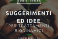 SUGGERIMENTI ED IDEE PER TRATTAMENTI BIODINAMICI LUGLIO - AGOSTO
