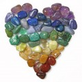Chakra Gemstone Heart