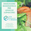 dissuasore biodinamico per limaccia
